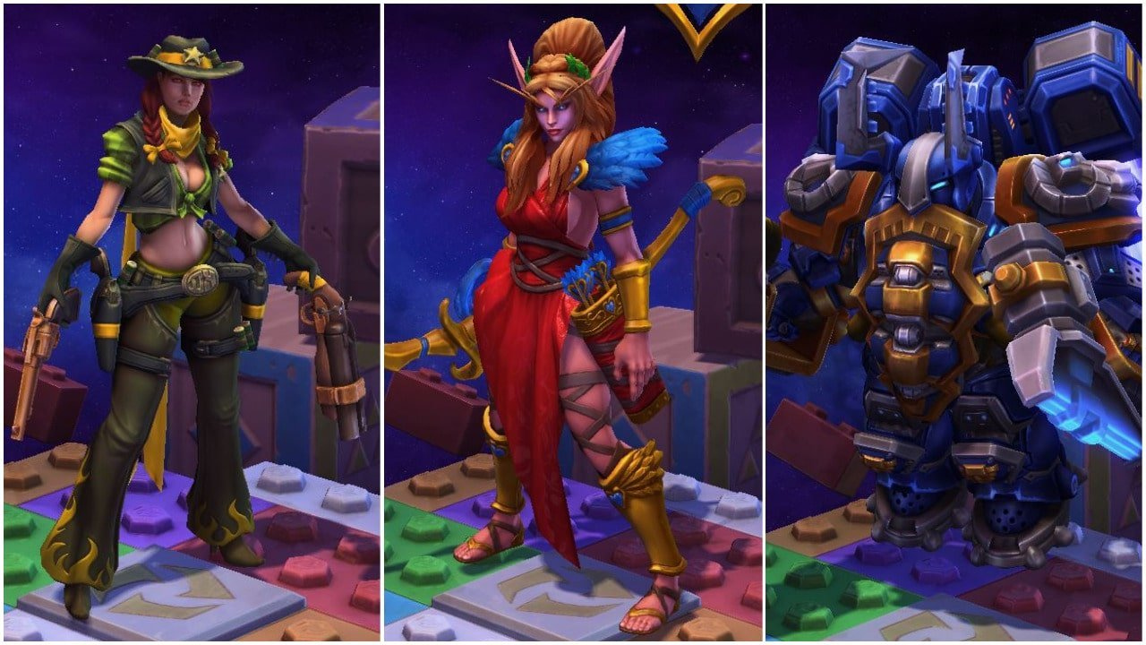 Hots Halloween Skins 2020 Heroes of the Storm skins that offer a gameplay advantage   So You